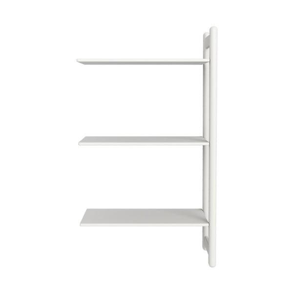 Biała dziecięca dodatkowa półka do szafki Flexa Shelfie, wys. 131.6 cm