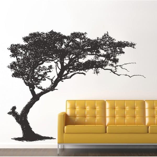 Naklejka na ścianę Czarne drzewo, 60x90 cm