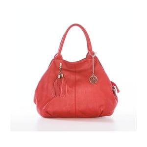Skórzana torebka Pietro, czerwona