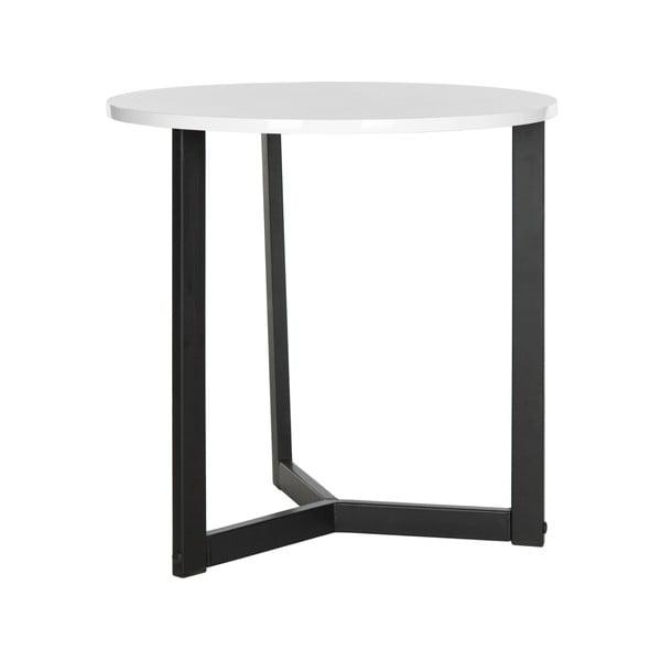 Czarny stolik z białym blatem Safavieh Alyssa