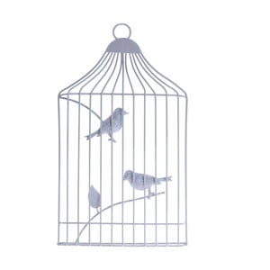 Dekoracja wisząca Ptaszki w klatce