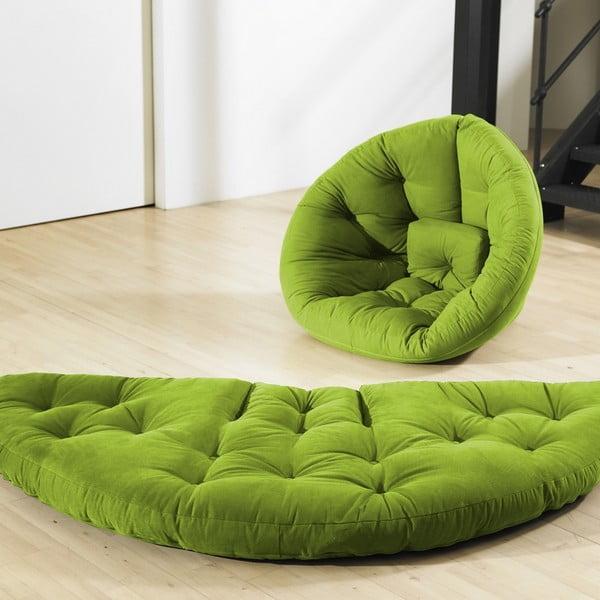 Fotel rokładany Karup Nest Lime