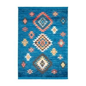 Dywan Nourison Navajo Blue, 130x66 cm
