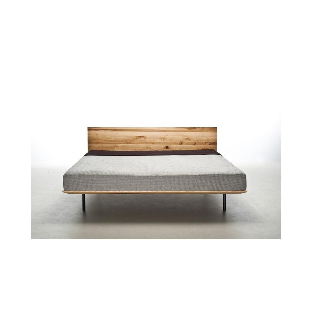 łóżko Z Drewna Jesionowego Pokrytego Olejem Mazzivo Modo 200x220 Cm Bonami