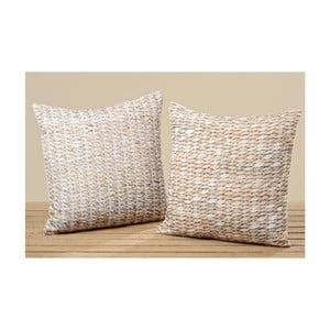 Komplet 2 poduszek Seagrass, 45x45 cm