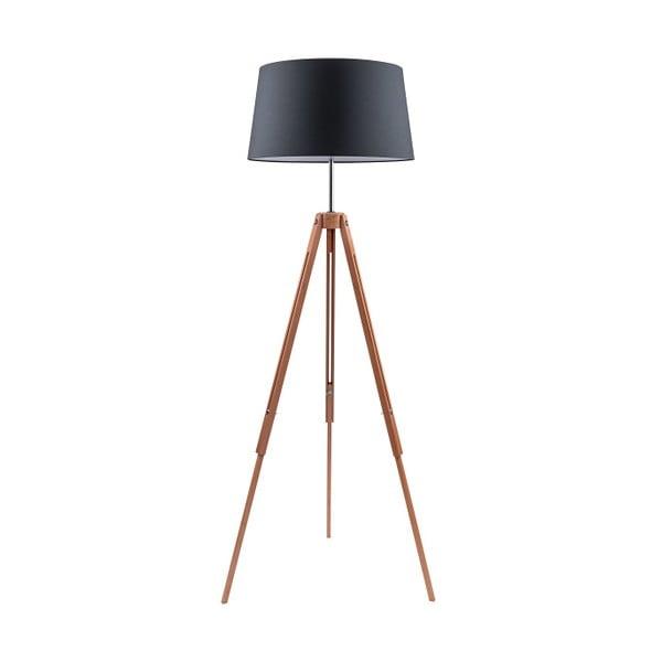 Czarna lampa stojąca BRITOP Lighting Tripod Britop