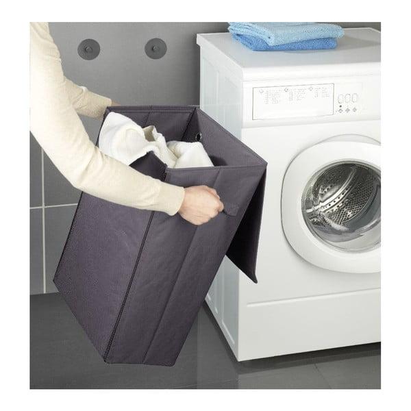 Szary wiszący kosz na pranie Wenko Turbo-Loc