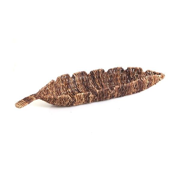 Wiklinowa miska Leaf, 68 cm