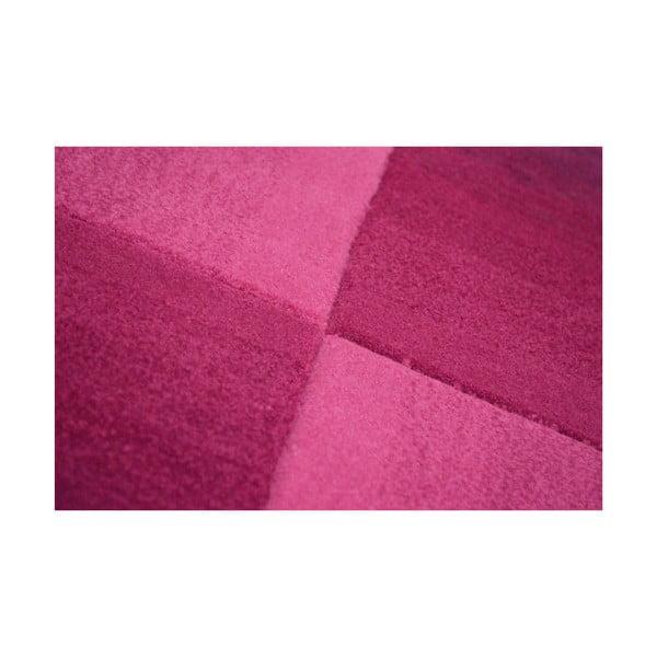 Dywan ręcznie tkany Calypso, 200x300 cm, fioletowy