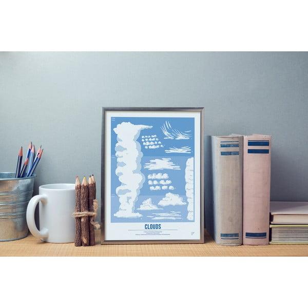 Plakat Follygraph Clouds, 30x40cm
