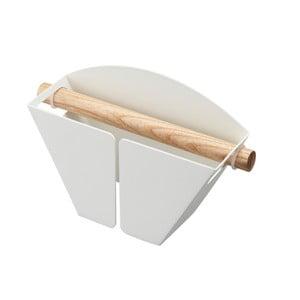 Biały uchwyt magnetyczny na filtry do kawy Yamazaki Tosca