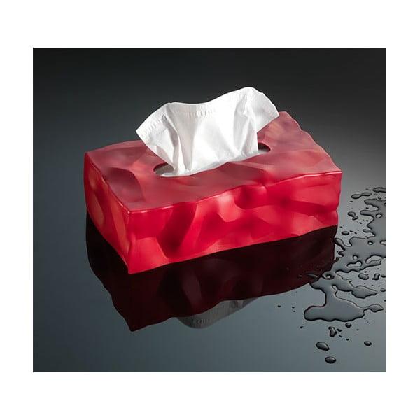 Pudełko na chusteczki Wipy II Czerwone