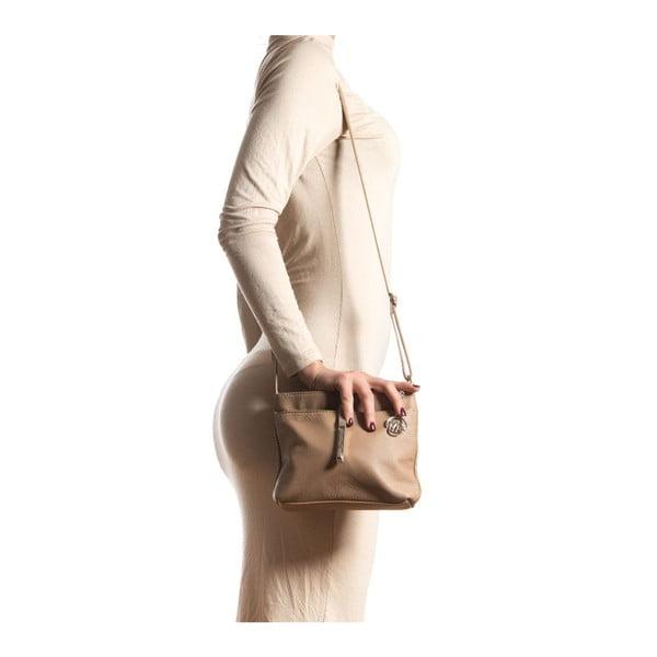 Skórzana torebka Roberta M 241s Fango