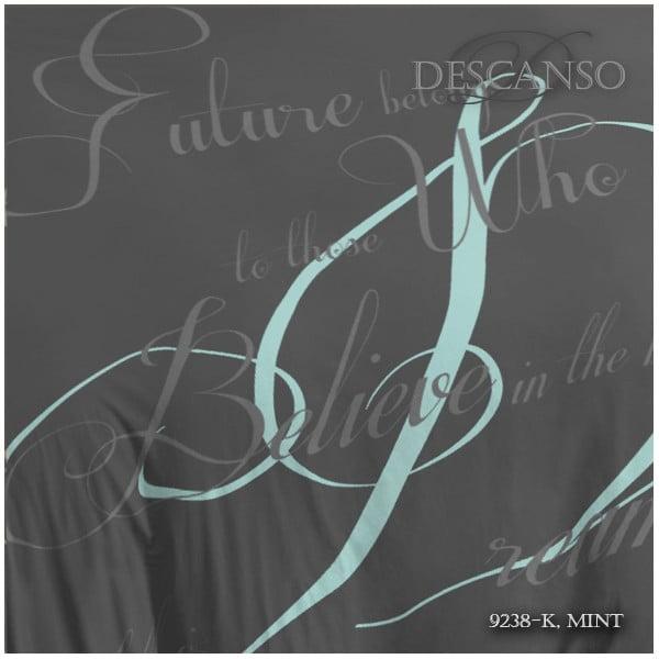 Pościel Descanso Bed Mint, 240x200 cm