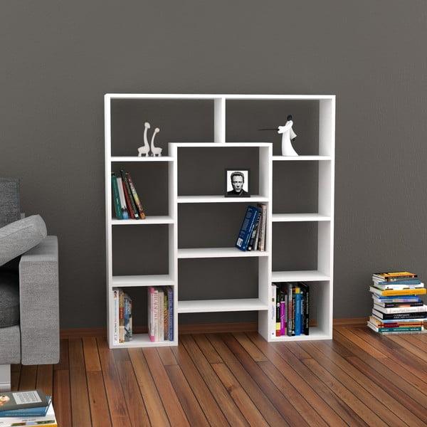 Biblioteczka Passage 135x123 cm White