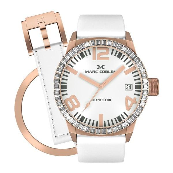 Zegarek damski Marc Coblen z dodatkowym paskiem i obręczą P59