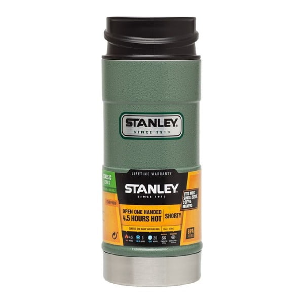 Kubek termiczny otwierany jedną ręką Hammertone 350 ml, zielony