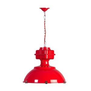 Czerwona lampa wisząca ETH Manduria