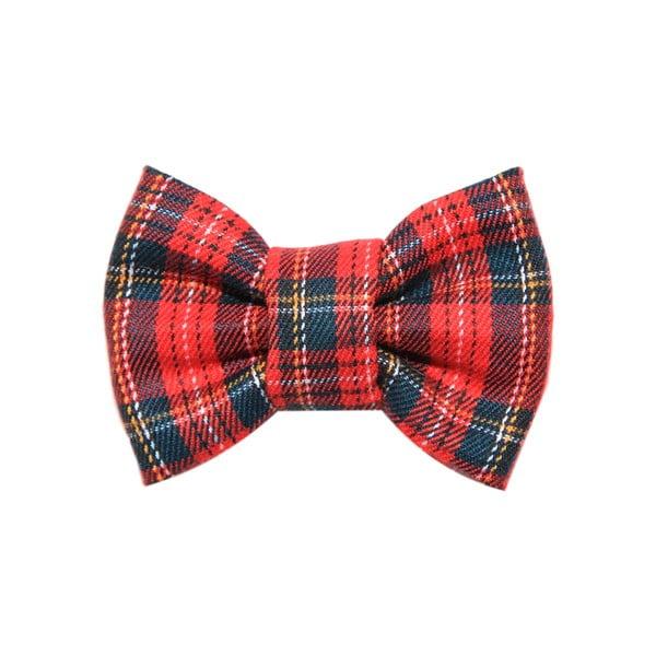 Mucha dla psa Funky Dog Bow Ties, roz. L, w czerwono-zieloną kratkę