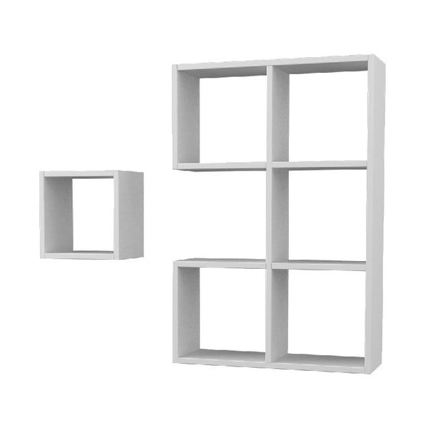 Półka Pacman 91x61 cm White