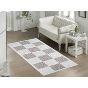 Beżowy wytrzymały dywan Vitaus Patchwork, 60x90 cm