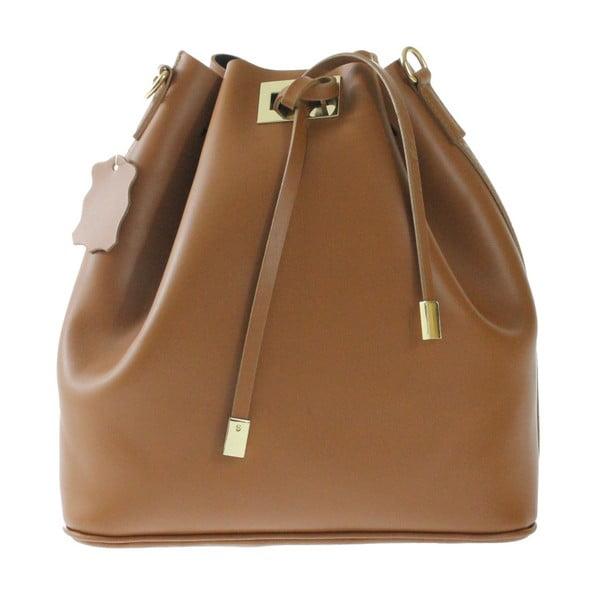 Brązowa skórzana torba Erica