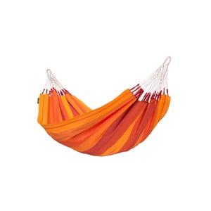 Hamak Orquidea jednoosobowy, pomarańczowy
