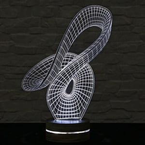 Lampa 3D stołowa Trick