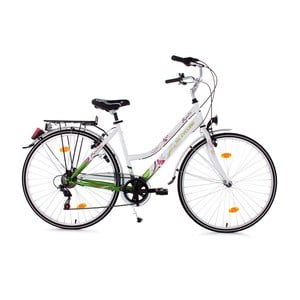 Damski rower City Bike Papilio White, 26""