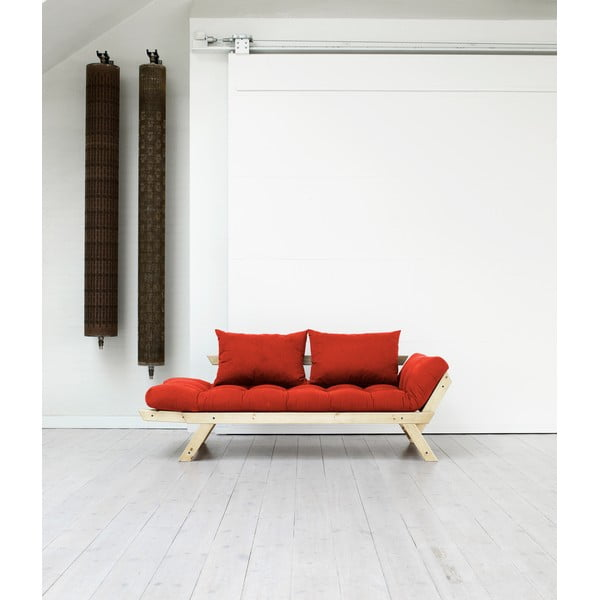 Sofa Karup Bebop Natural/Red