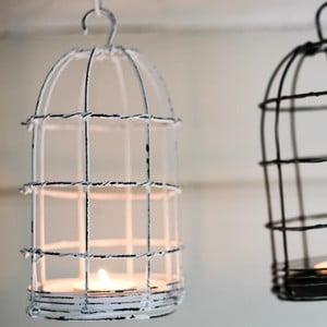 Lampion Bird Cage Light 26 cm, biały
