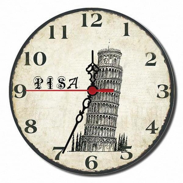 Zegar ścienny Pisa, 30 cm