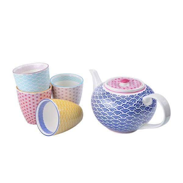 Porcelanowy zestaw do herbaty Star