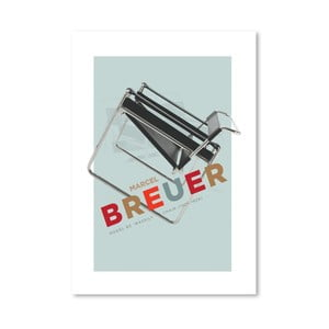 "Plakat autorski ""Breuer Chair"""