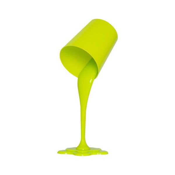 Zielona lampa stołowa Ximena