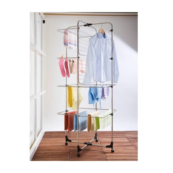 Czteropiętrowa suszarka na pranie Wenko Laundry, 35 m