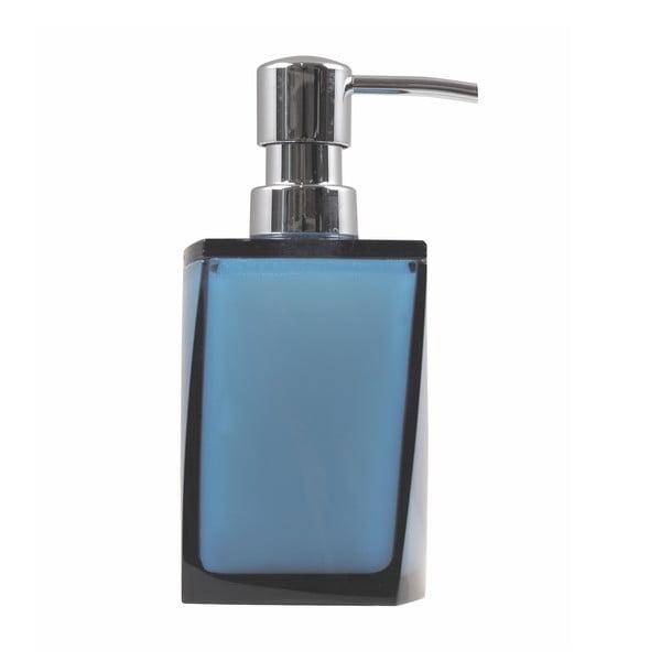 Dozownik do mydła Transparent Petrol Blue