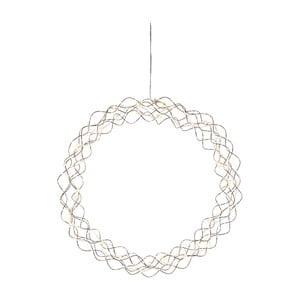 Dekoracja wisząca LED Best Season Curly Dewdrops, Ø45cm