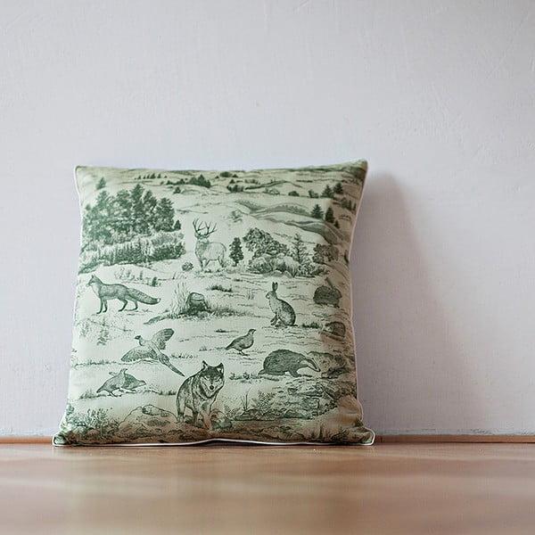 Poduszka z wypełnieniem Green Forest, 50x50 cm