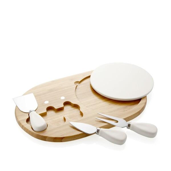 Deska i noże do krojenia serów Couteaux