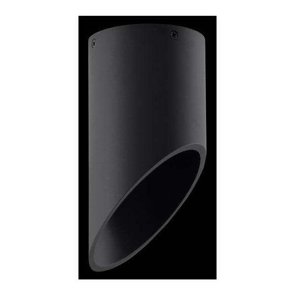 Czarna lampa sufitowa Nice Lamps Nixon, długość 20 cm