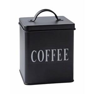 Blaszany pojemnik Coffee Black, 14x11,5 cm