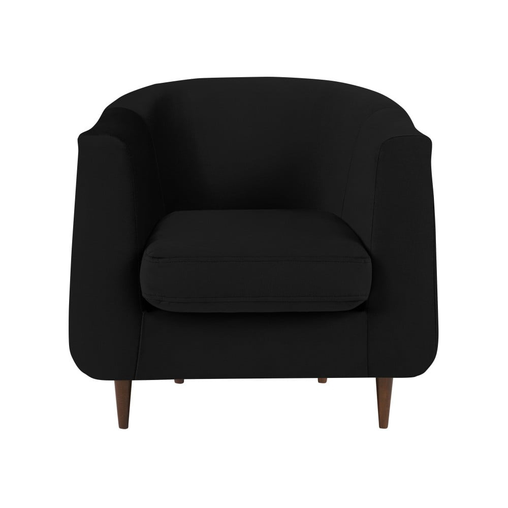 Czarny fotel Kooko Home Glam