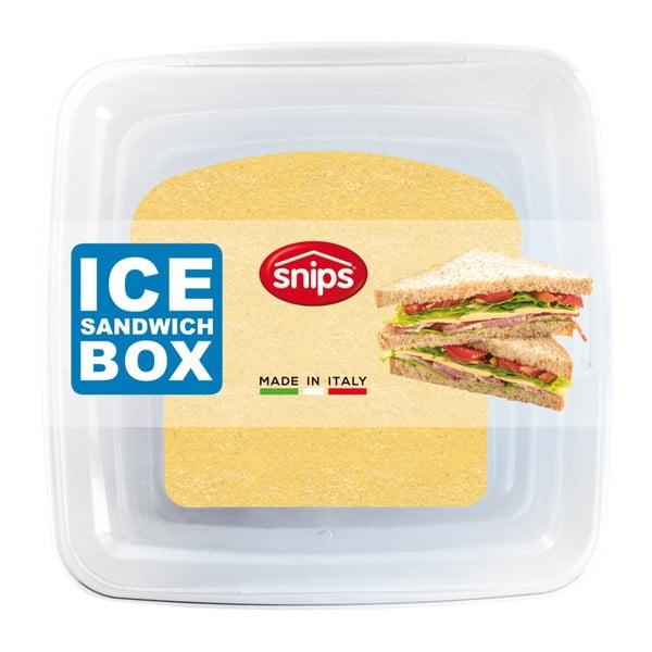 Pojemnik śniadaniowy z wkładem chłodzącym Snips Sandwich