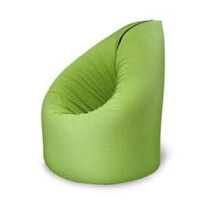 Zielony fotel rozkładany Paq Bed
