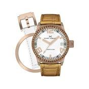 Zegarek damski Marc Coblen z dodatkowym paskiem i obręczą P29