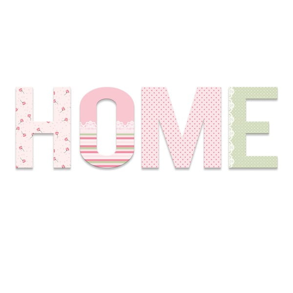 Napis dekoracyjny Home Art