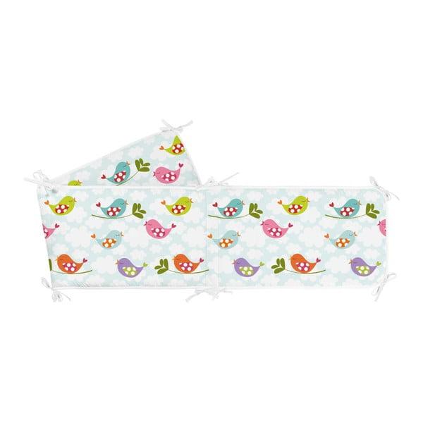 Ochraniacz do łóżeczka Mr. Fox Little Birds, 210x40 cm