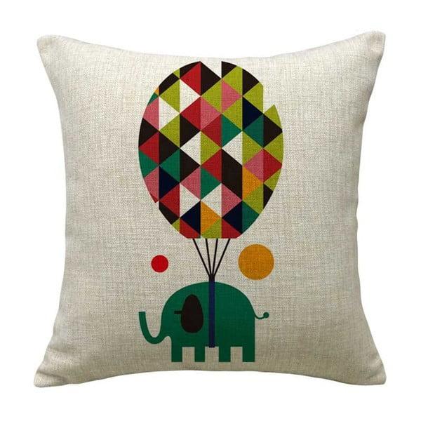 Poszewka na poduszkę Globus Elephant, 45x45 cm
