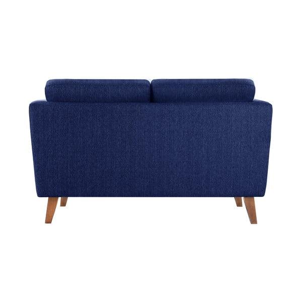 Granatowa sofa 2-osobowa Jalouse Maison Elisa